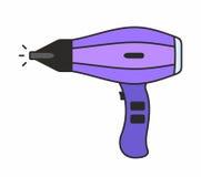 Значок фена для волос Стоковые Фото