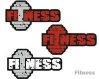 Значок фитнеса Стоковые Изображения RF