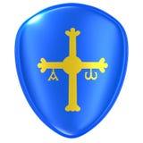 Значок флага Астурии иллюстрация штока