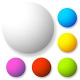 Значок, форма кнопки с пустым пространством Предпосылка для вашего текста, Стоковые Фотографии RF