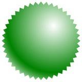 Значок, форма кнопки с пустым пространством Предпосылка для вашего текста, Стоковое Изображение RF