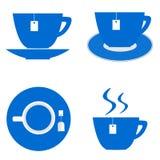 Значок чашки чая Стоковое фото RF