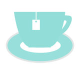 Значок чашки чая Стоковое Фото