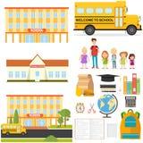 Значок школы бесплатная иллюстрация