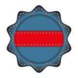 Значок штемпеля уплотнения Концепция ярлыка по мере того как вектор свирли предпосылки декоративный графический стилизованный раз бесплатная иллюстрация