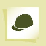 Значок шлема Стоковая Фотография RF