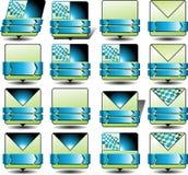 Значок электронной почты продвижения Стоковые Изображения