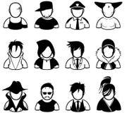 значок людей Стоковая Фотография RF