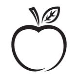 Значок Яблока Стоковое Изображение