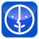 Значок app варианта фото Стоковая Фотография RF