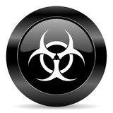 Значок Biohazard Стоковое фото RF