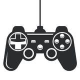 Значок Gamepad - кнюппель консоли игры Стоковое фото RF