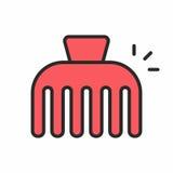 Значок Hairpin Стоковое Изображение RF