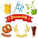 Значок Oktoberfest Стоковое Изображение