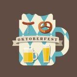 Значок Oktoberfest Стоковая Фотография