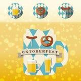 Значок Oktoberfest Стоковая Фотография RF