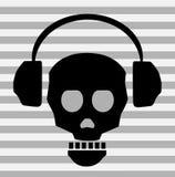 знонит по телефону черепу Бесплатная Иллюстрация