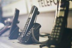 знонит по телефону радиотелеграфу Стоковая Фотография RF