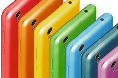 Знонит по телефону цветам радуги Стоковая Фотография RF