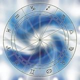 зодиак диаграммы Стоковые Изображения RF
