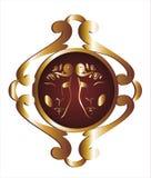 зодиак знаков gemini Стоковые Изображения