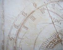 зодиак предпосылки Стоковая Фотография