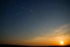 зодиак созвездия Стоковые Фото