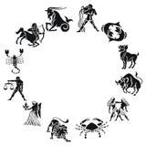 зодиак Стоковые Фотографии RF