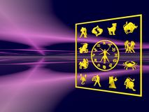 зодиак horoscope бесплатная иллюстрация