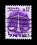 Зодиак: Libra, зодиак подписывает serie, около 1961 Стоковое Фото