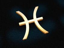 зодиак pisces иллюстрация вектора