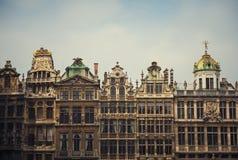 зодчество Бельгия brussels известный стоковая фотография rf