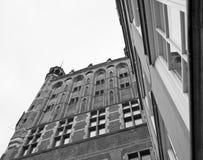 Зодчество в Гданьск. стоковые фотографии rf