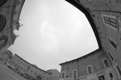 Зодчество в Urbino Стоковое фото RF