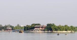 Зодчество дворца лета в Пекин Стоковые Изображения