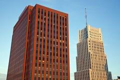 Зодчество Akron, Огайо Стоковая Фотография RF