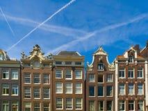 зодчество amsterdam типичное Стоковое Фото