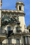 зодчество barcelona стоковые фотографии rf