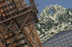 зодчество chicago стоковое изображение rf