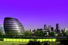 зодчество london самомоднейший Стоковое Фото