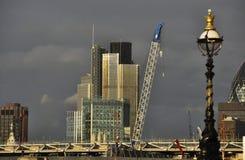 зодчество london самомоднейший Стоковое фото RF