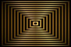 Золотая абстрактная предпосылка, прямоугольники с тенью, вектор золота Стоковые Фотографии RF