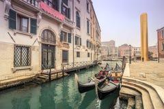 Золотая башня Венеция стоковые фотографии rf