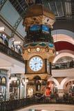 Золотая башня с часами в Сиднее Австралии Стоковые Изображения