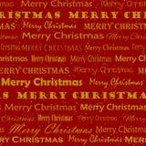 Золотая картина рождества Mery стоковые изображения rf
