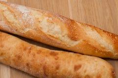 Золотая корка французского хлебца Стоковые Изображения