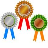 золотая медаль чемпиона Стоковое фото RF