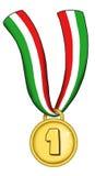 золотая медаль Стоковая Фотография RF