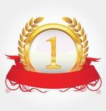 золотая медаль Стоковое Изображение
