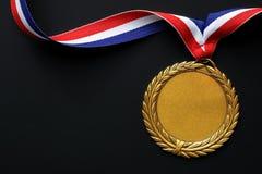 золотая медаль олимпийская Стоковое Изображение RF